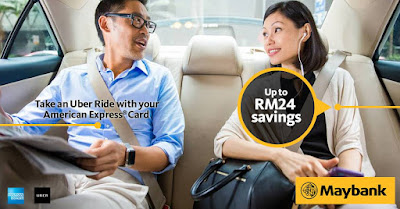 Uber Promo Code Malaysia Discount American Express Amex Card
