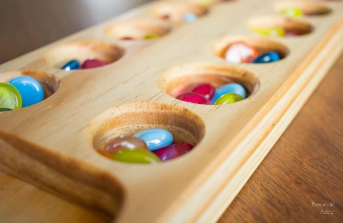 Wooden Diy Game Box