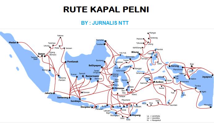 Harga Tiket Kapal Pelni Bulan September 2019 Semua Rute