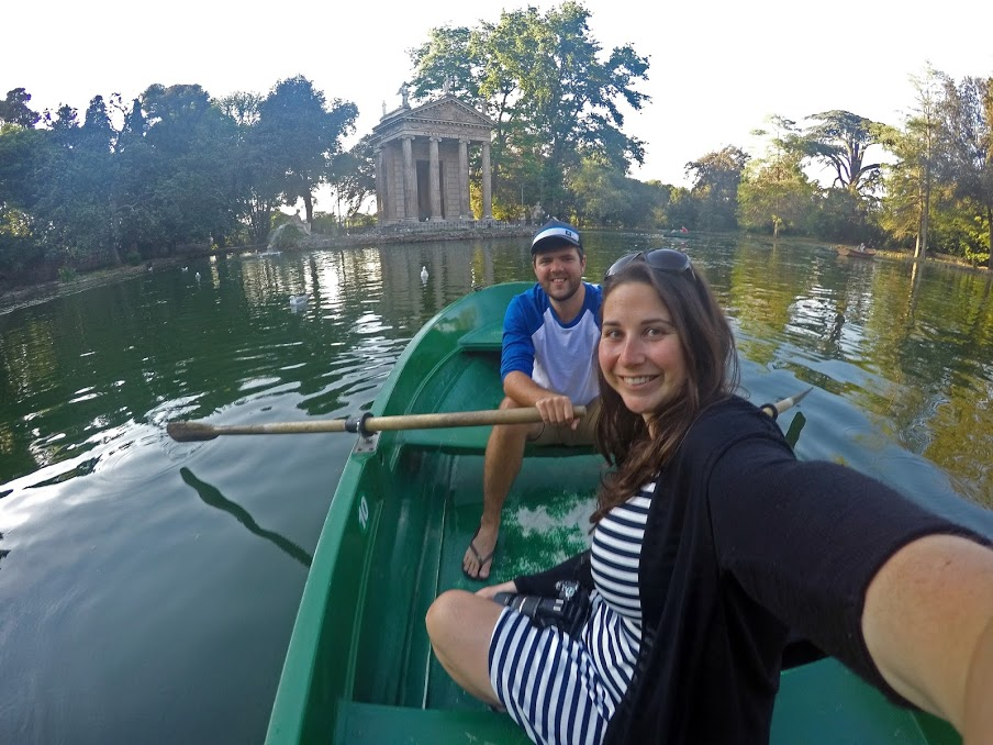 Rowing in Rome