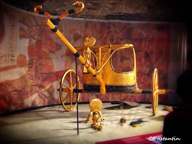 Tutankhamon - carul de lupta al faraonului