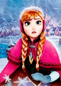 Anna Frozen Disney movie animatedfilmreviews.filminspector.com