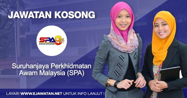 jawatan kosong kerajaan SPA Malaysia SPA9 2021
