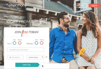 موقع eharmony للتعارف والزواج