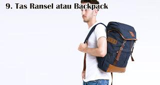 Tas Ransel atau Backpack cocok untuk dijadikan souvenir