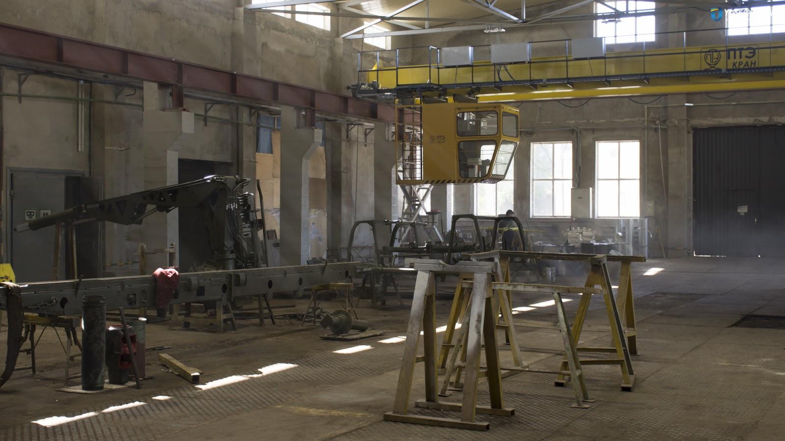 Шепетівський ремзвод реконстроював виробничий цех