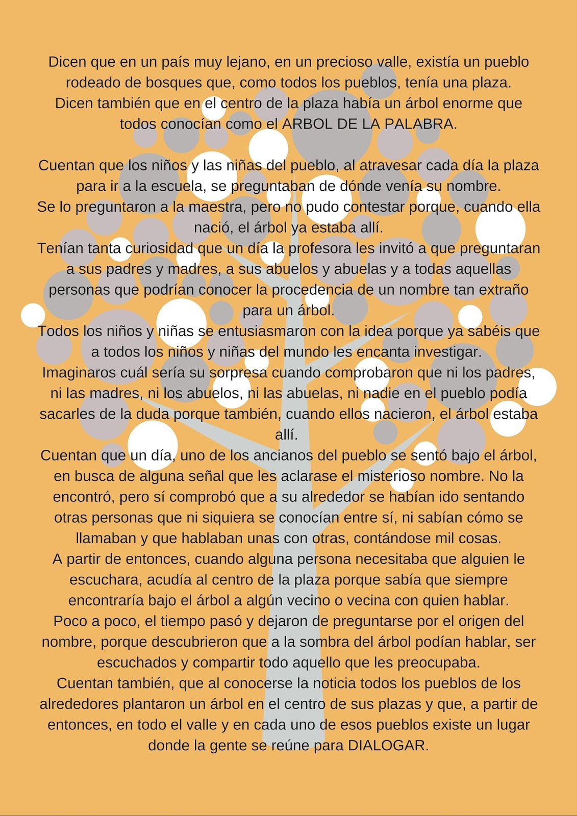 El arte de crear actividades de aula 30 enero el rbol for Significado de la palabra arbol