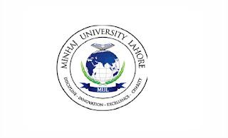 Minhaj University Lahore Jobs 2021 MUL Latest – www.mul.edu.pk