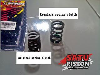 Review Ganti Per Kopling Honda Sonic 150 R Pakai Per Kopling Racing Kawahara