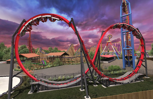 six flags discovery kingdom harley quinn crazy coaster 2018