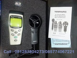 Jual Tenmars TM411 - 414 Air Velocity Meter