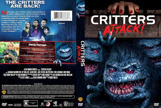 Critters Attack! DVD Cover