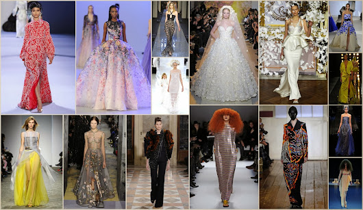FASHION REVIEW: Spring Couture 2014, Paris  | Instyleopedia
