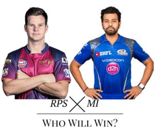 Rising Pune Supergiants (RPS) v (MI) Mumbai Indians Highlights