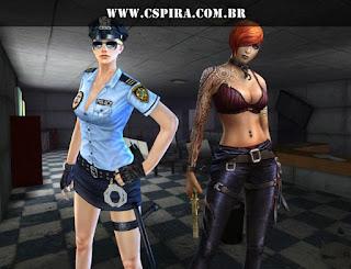 Rebecca (CT) e Ace (TR) são duas personagens femininas do Counter-Strike Online.