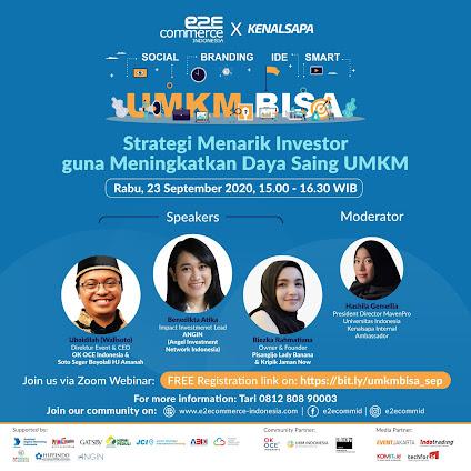 Webinar Strategi Menarik Investor Guna Meningkatkan Daya Saing UMKM 23 Sep 2020
