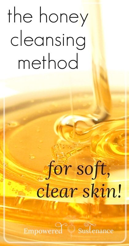 The Honey Cleansing Method for Clear, Smooth Skin