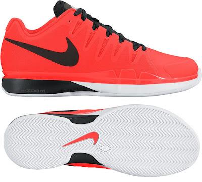 Tenisová obuv Nike ZOOM VAPOR TOUR 9.5 Clay 631457-800 oranžová