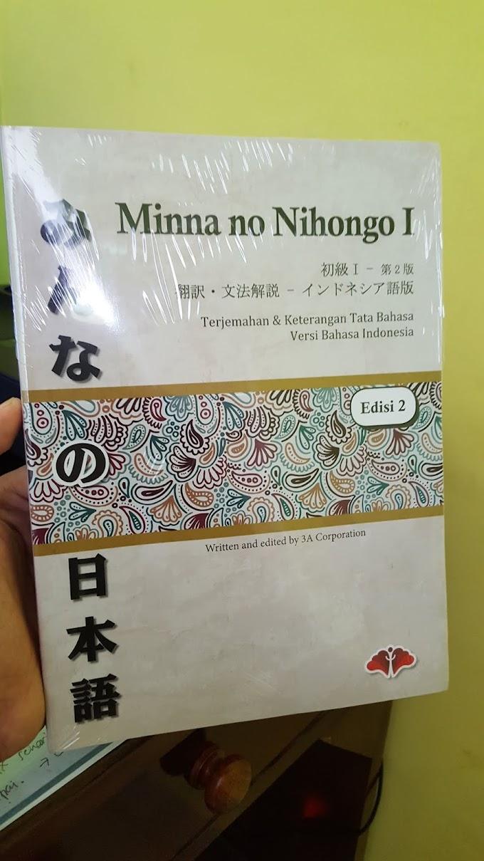 minna no nihongo 1 terjemahan | Buku Panduan Bahasa Jepang Dasar