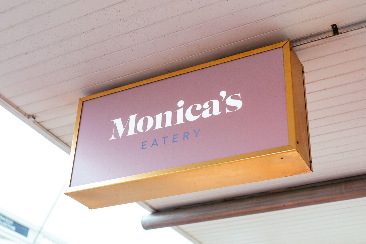 Monicas Cafe Menu