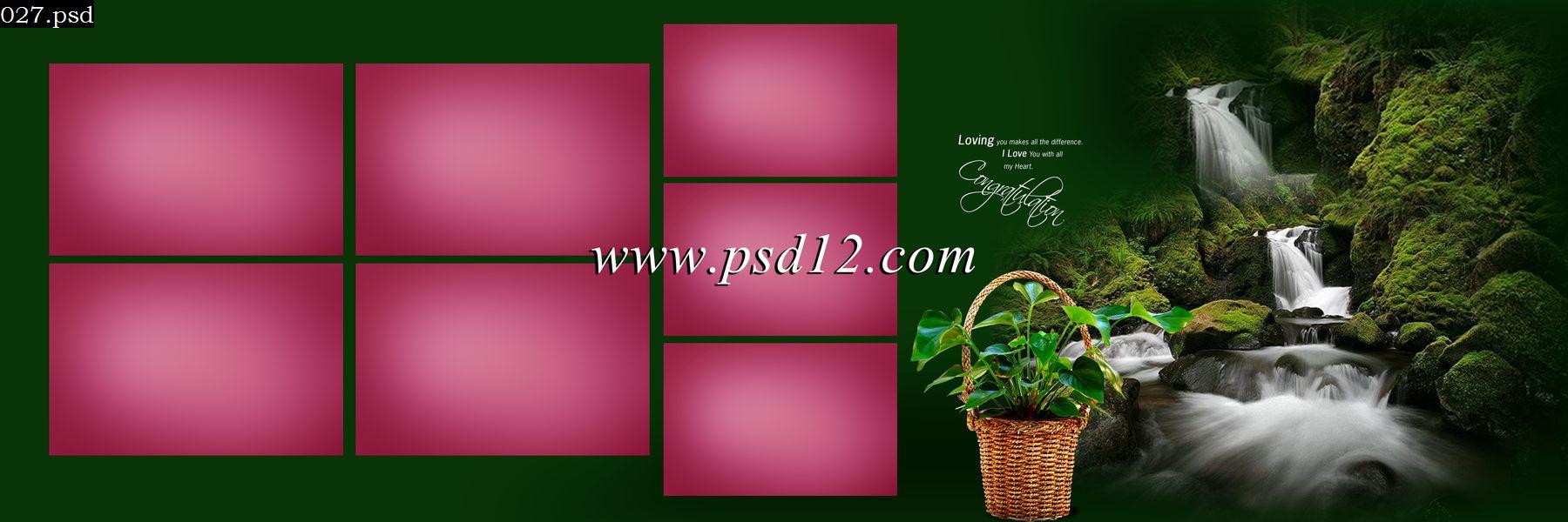 Marriage Album PSD download