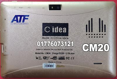 C idea CM20 Flash File