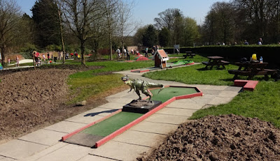 Crazy Golf at Haigh Woodland Park in Wigan