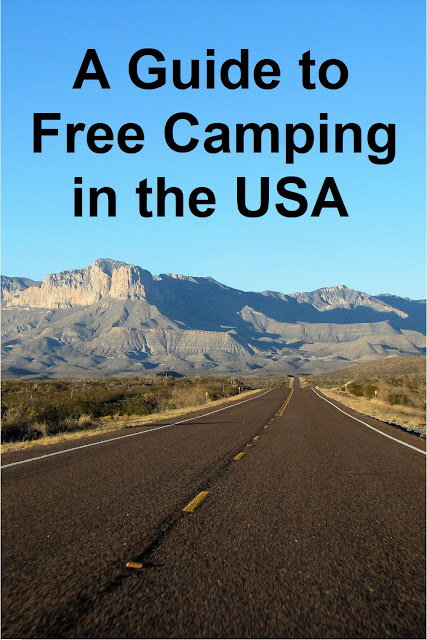 a guide to free camping in the USA