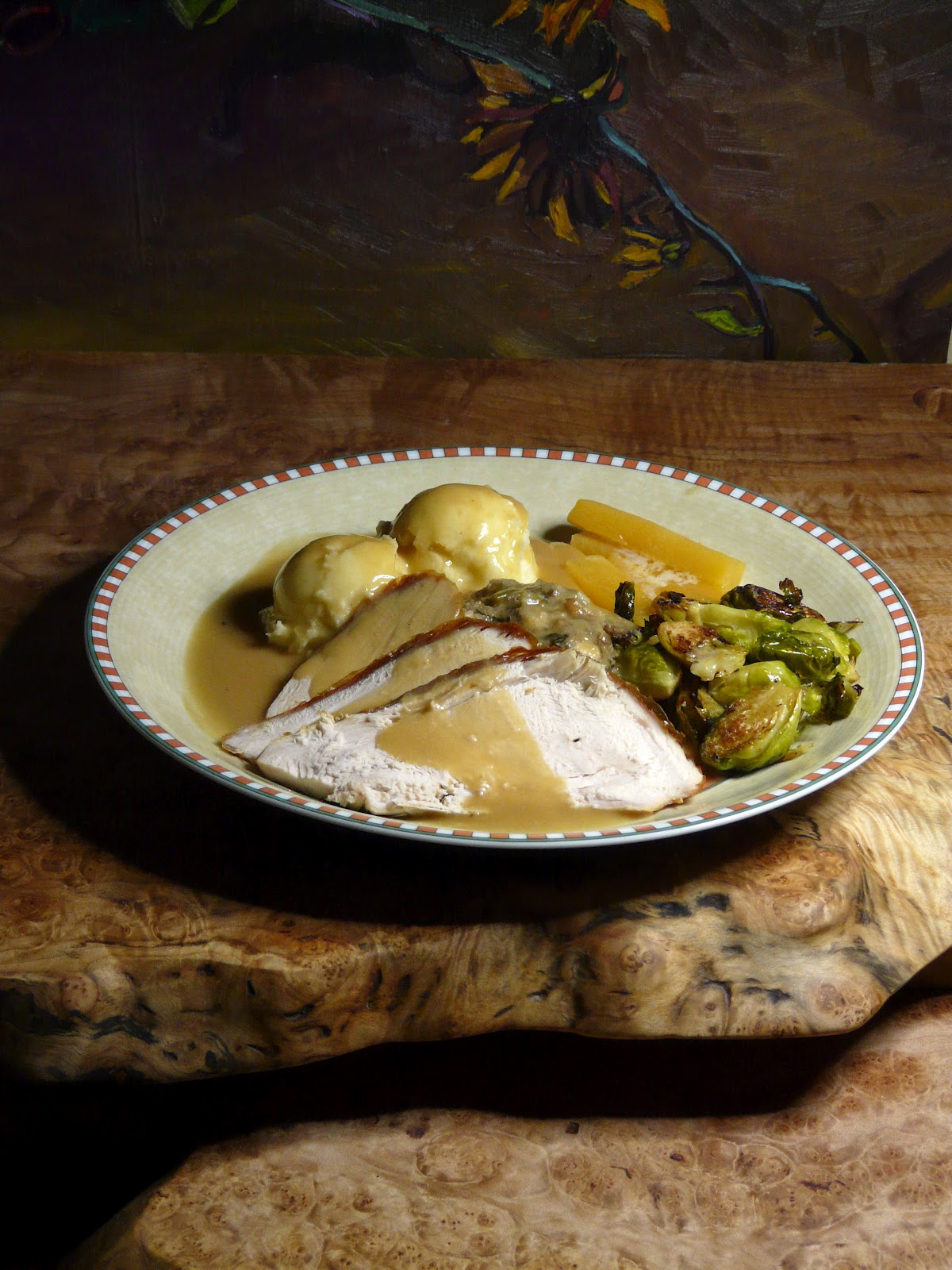 Thibeault's Table: Mid-Week Roast Turkey Dinner