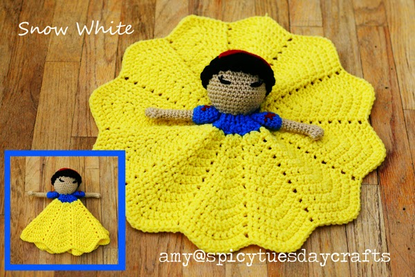 Free Crochet Pattern For Snow White Dress : 7 Free Disneys Snow White Inspired Crochet Patterns ...