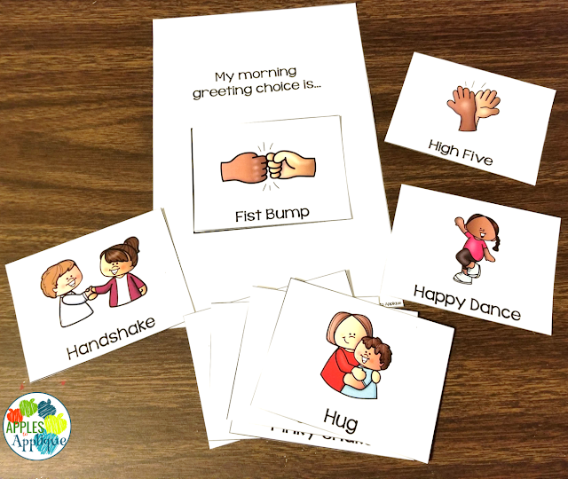 Morning Greeting Choices | Apples to Applique