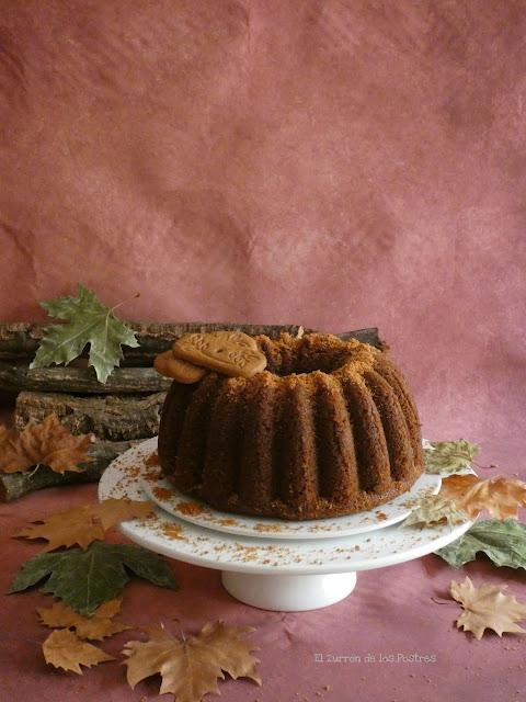 Bundt Cake Galletas Spéculoos