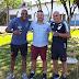 Embaixadores do Atlético Paranaense estiveram em Treze Tílias observando o trabalho da Escolinha Furacão