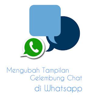 Cara Mengubah Gelembung Whatsapp - thumbnail