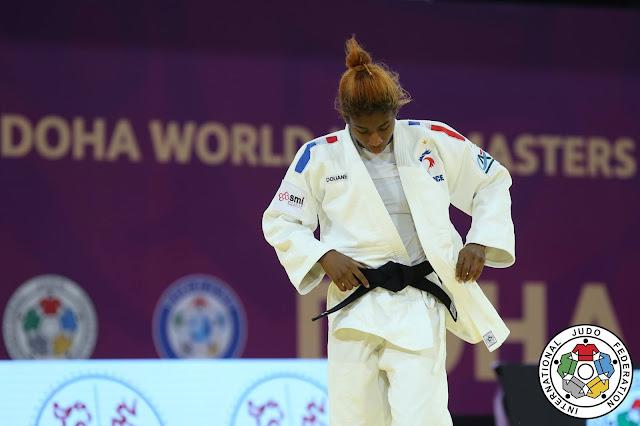 Marie Eve Gahie no Masters de Doha