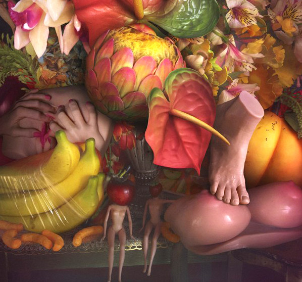 David LaChappelle The Earth Laughs In Flowers