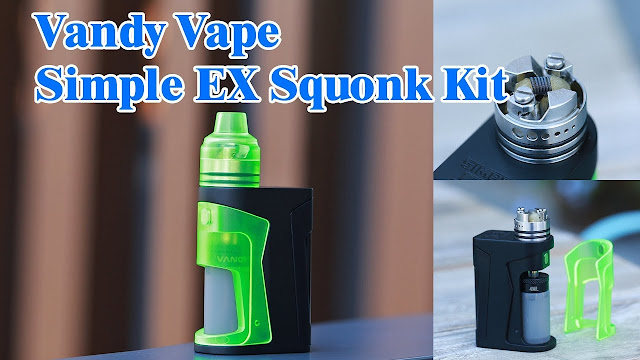 Vandy Vape Simple Ex Kit-Affording You Various Enjoyment