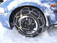 monter chaînes neige