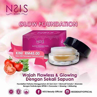 NSIS GLOW FOUNDATION