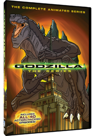 DVD Review - Godzilla: The Complete Animated Series