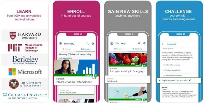 Edx App For Students Learning Teacher