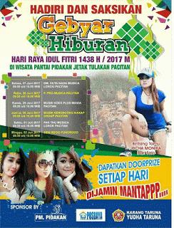 DUTA NADA Live Pantai Pidakan Pacitan Idul Fitri 27 Juni 2017