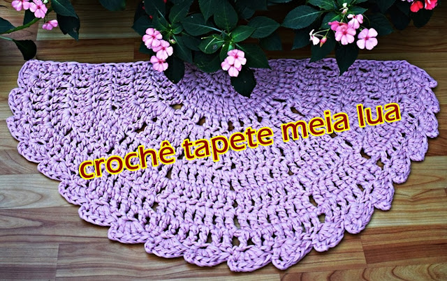 aprender croche tapete meia lua rosa edinir croche videos curso de croche euroroma