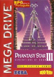 Rom de Phantasy Star 3: Generations of Doom - Mega Drive - PT-BR
