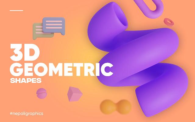 3d-geometric-shapes
