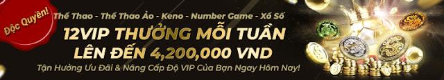 Bạn nào chưa chơi Numbergame 12BET thật uổng Vip-sportsbook-weekly-bonus
