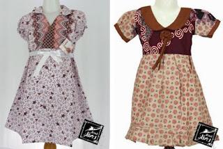Batik anak perempuan modis
