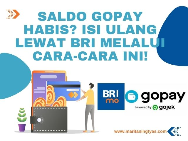 isi saldo GoPay BRI Mobile