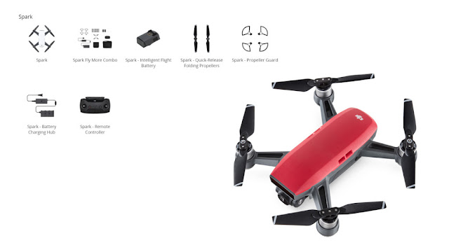 DJI Spark Solo or DJI Spark Fly More Combo   DJI Spark Solo or DJI Spark Fly More Combo - What is The Differences