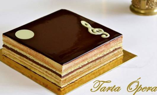 Receita de torta Ópera (tarta ópera ou gateau ópera)
